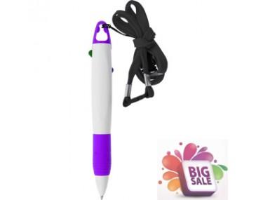 Custom 2 colour lanyard Pen