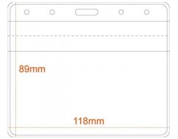 8.9cm x 11.8cm Badge Holder