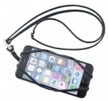 Logo Emblazoned Smart Phone Holder Lanyards Front