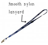 Smooth Nylon Lanyard